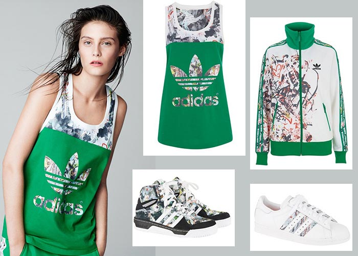 Collectie Topshop x Adidas Originals. Bekijk hier de Topshop x Adidas Originals collectie. 20 items waaronder sneakers, hoodies, shorts en sweats.