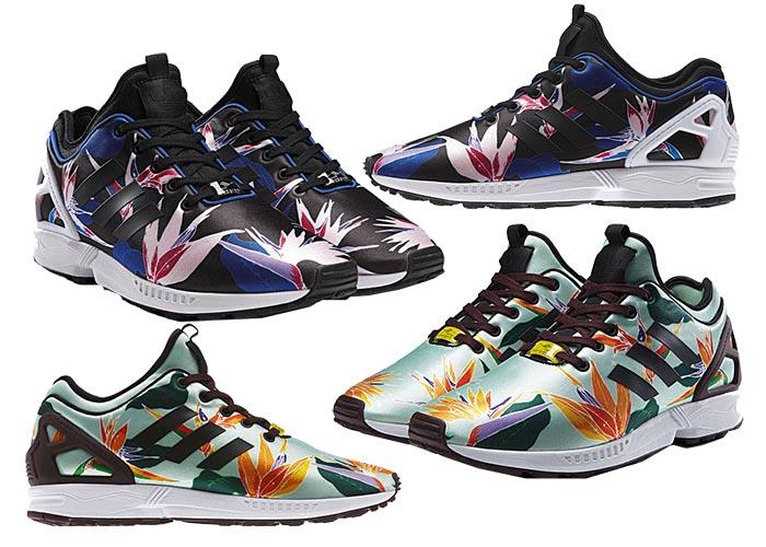 4271c9ecebc De sneakers staan dus eigenlijk wel bekend om hun felle kleurtjes en leuke  printjes en dit jaar komt Adidas met een nieuwe variant: bloemen!