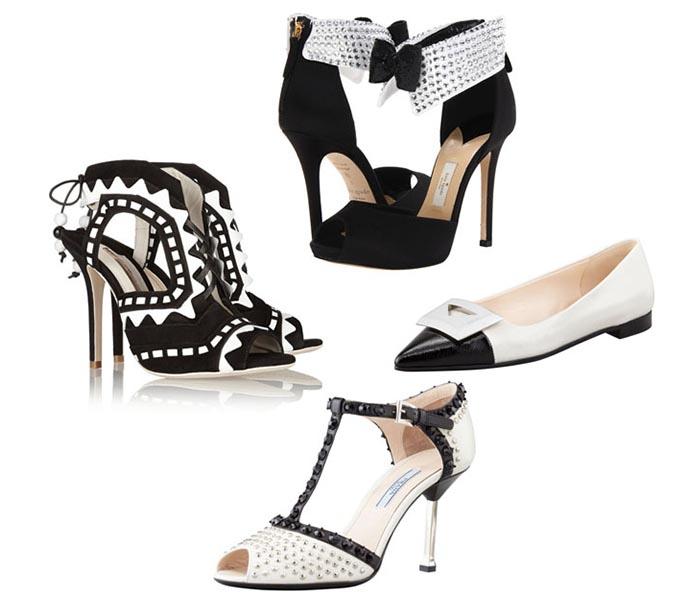 Zwart wit trend 2013. How to wear: de zwart wit trend 2013. Bekijk hier alles over deze trend. Van combinaties tot verschillende designs en patronen.