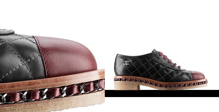 Musthave: Chanel schoenen lace ups. Ontdek hier de musthave van het seizoen: Chanel schoenen lace ups. Ontdek deze geweldige musthave hier van Chanel.