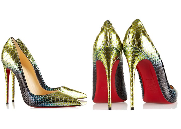 Musthave: Christian Louboutin So Kate 120 Python. Alles over deze nieuwe musthave voor 2015: Christian Louboutin So Kate 120 Python. Ontdek hier.