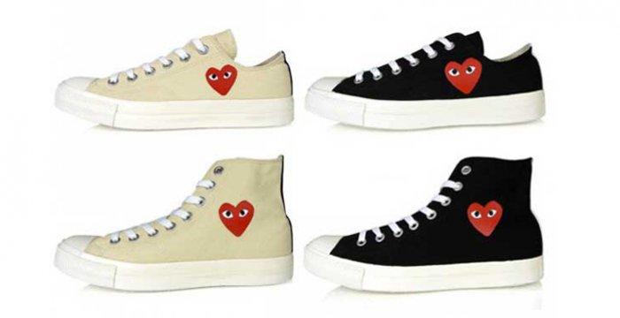 Converse x Comme des Garçons sneakers Shoejunks.nl