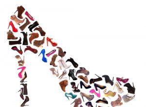 schoenen in de vorm van een schoen