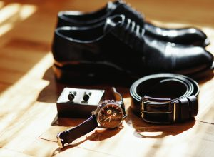 herenschoenen met accessoires