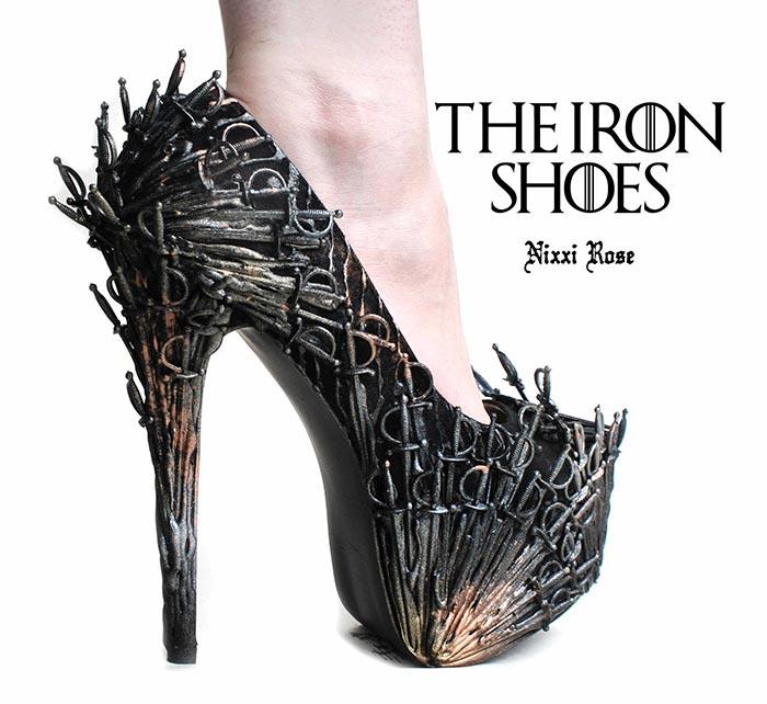 Gekke schoenen: Uit de film. Van Game of Thrones tot Breaking Bad en Spongebob. Gekke schoenen geïnspireerd op deze films en series. Bekijk hier.