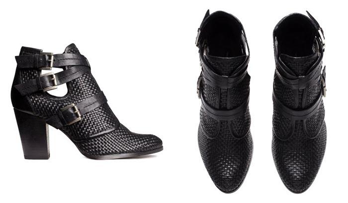 H&M premium quality boots 2014. Alles over deze H&M premium quality boots uit de herfst collectie  van 2014: black enkelbooties met gespen. Bekijk nu!