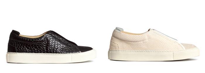 H&M sneakers voor de winter van 2014. Deze leren H&M sneakers in zwart en crème zijn helemaal te gek. Laat je inspireren en ontdek ze hier.