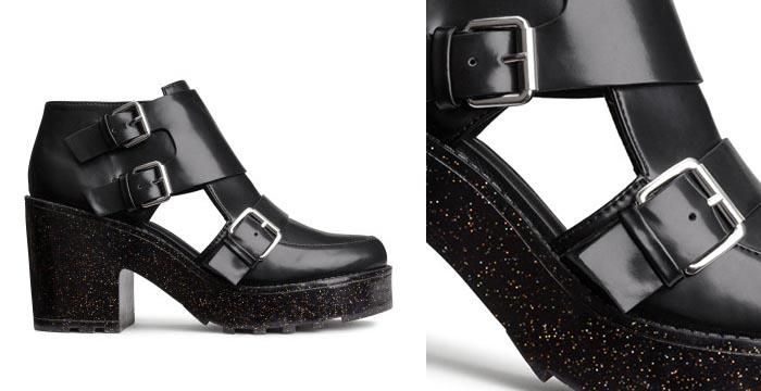 Nieuwe plateau schoenen van H&M voor de herfst/winter van 2014: een echte musthave. Bekijk hier deze H&M plateau schoenen voor de herfst/winter 2014.