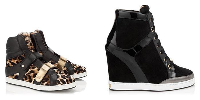 Jimmy Choo sneakers A/W 2014. Alles over de Jimmy Choo sneakers voor de herfst/winter van 2014. Bekijk zowel de Jimmy Choo dames als heren sneakers.
