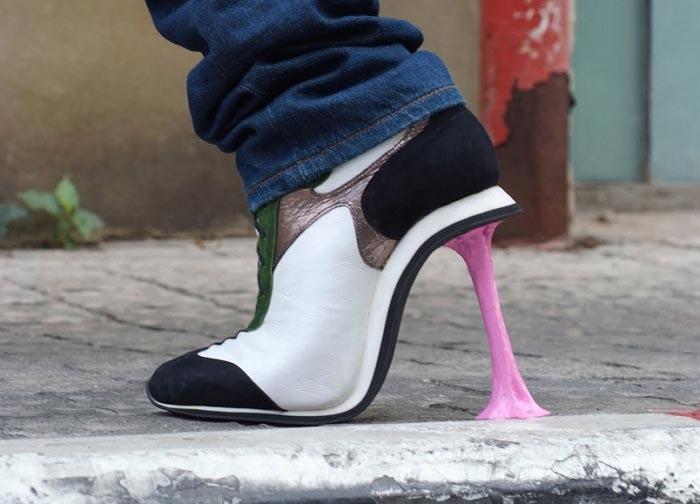 Leuke schoenen: High heels van Disney figuren. Bekijk hier de high heels van Kobi Levi. Wat een leuke schoenen zijn dit! Ontdek Kobi Levi hier!