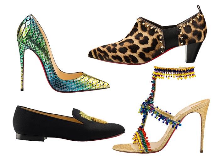 Nieuwe collectie Louboutin 2015 lente/zomer: high heels, rode zolen en meer. Alles over de nieuwe Louboutin 2015 collectie lente/zomer. Ontdek hier.