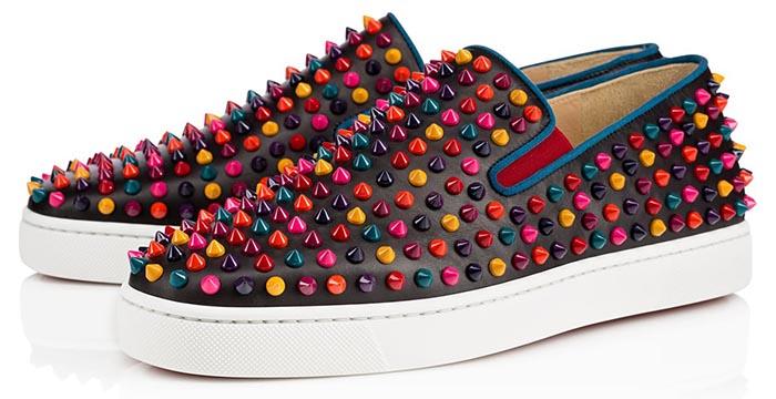 Musthave: Louboutin Men spikes. Alles over deze musthave 2014: Louboutin Men spikes bootschoenen. Voorzien van de beroemde rode zolen. Shop ze nu!