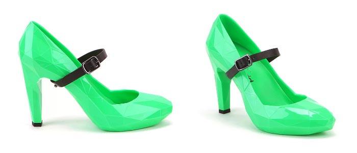Zomer collectie 2013: United Nude neon shoes. Bekijk hier de zomer collectie van United Nude 2013 en ontdek hun collectie van neon shoes!