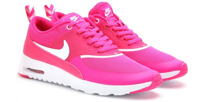 nike air max dames fel roze