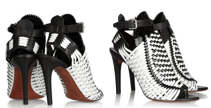 Proenza Schouler peeptoe sandalen, bekijk de musthaves van 2014! Alle schoenen ontdek je hier. Bekijk deze gave Proenza Schouler statement peeptoes.