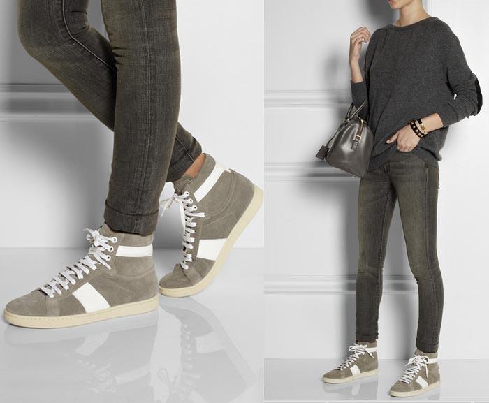 Musthave: Saint Laurent sneakers. Bekijk hier een te gekke musthave voor aankomend najaar: Saint Laurent sneakers. Ontdek deze sneakers van YSL hier!