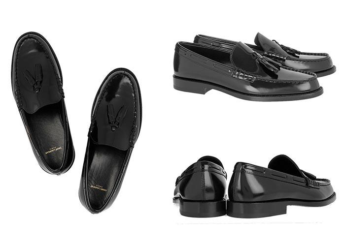 Copycat Saint Laurent X Zara loafers. Schoenen van Saint Laurent lijken erg veel op dit ontwerp van Zara. Loafers met een designer randje. Ontdek hier.
