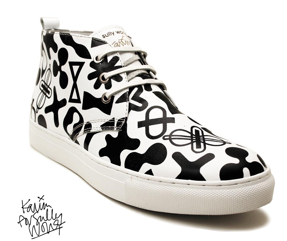 Ontdek de geweldige Sully Wong sneakers. Deze 2014 collectie gemaakt door Karim Rashid is werkelijk een musthave voor de lente en zomer van 2014.