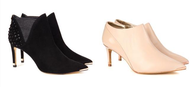 Ted Baker schoenen: booties, laarzen, ballerina's. Noem het maar op en je vind het bij Ted Baker. Bekijk alle schoenen hier. Van pumps tot laarsjes.