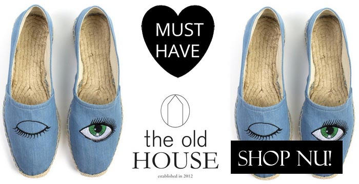 Musthave: Espadrilles van The Old House. Alles over espadrilles van The Old House, shop deze zomer musthave hier van 2014. Shop nu en bestel.