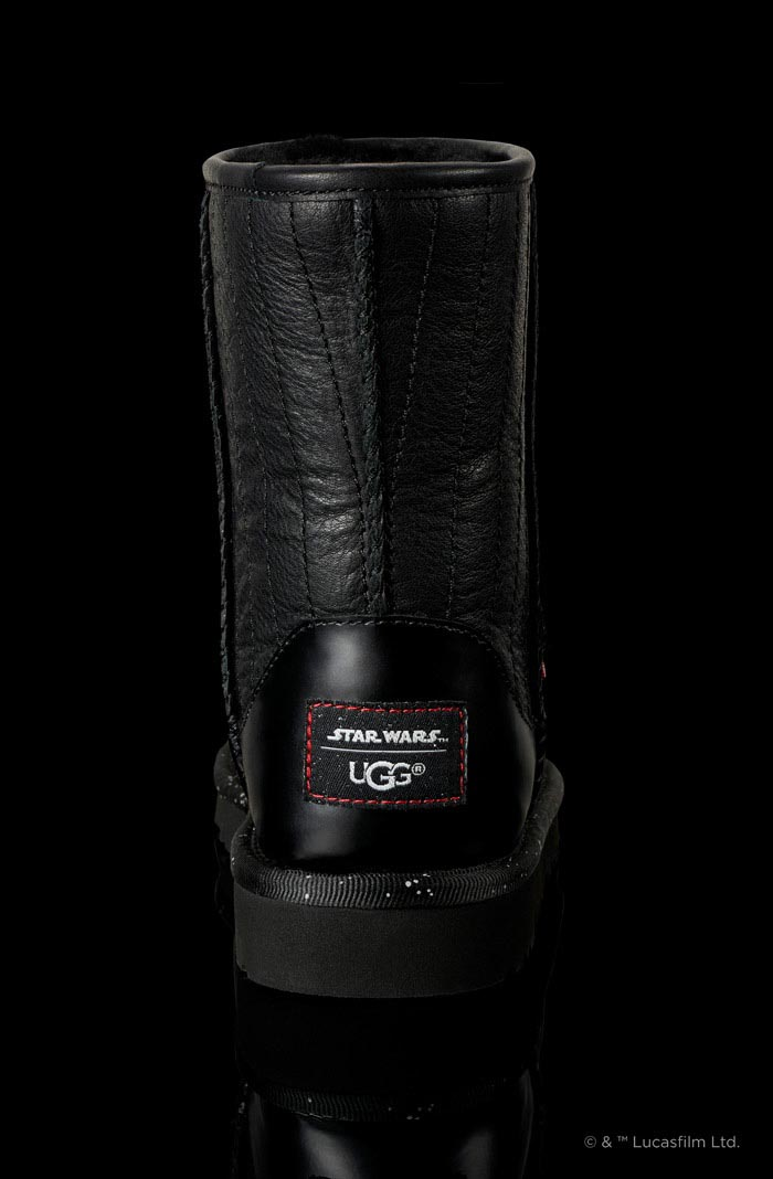 Star Wars Darth Vader x Uggs collectie vanaf 4 Mei 2015. Alles over de Uggs x Star Wars collectie. Darth Vader designs voor heren, dames en kids.