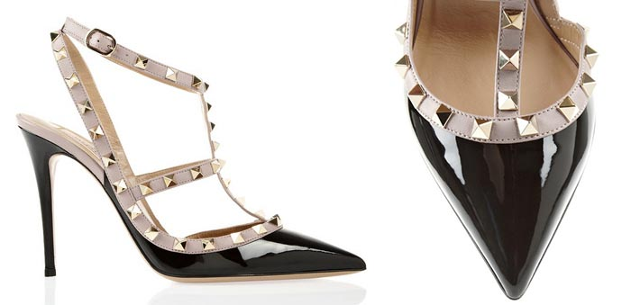 Valentino Studded patent-leather pumps. Alles over Valentino pumps. Lees alles over het razend populaire Studded patent-leather model hier. Ontdek nu!