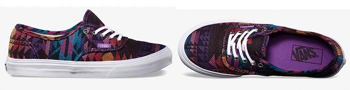 Vans Tribal sneakers vs. Mipacha; Zuid-Amerikaanse motiefjes zijn in. Bekijk hier de sneakers van zowel Vans als Mipacha. Wat zijn de verschillen?