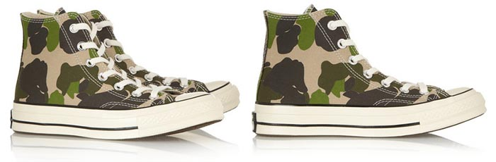 Wannahave 2014: All Star Chuck Taylor's legergroen. Bekijk hier deze gave All Star Chuck Taylor's in een coole camouflage print. Modern en stoer.