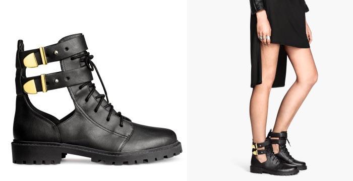 Musthave 2014: Open boots van H&M. Bekijk hier gave bikerboots van H&M: deze open boots van de highstreet modeketen zijn te gek. Herfst/winter 2014.