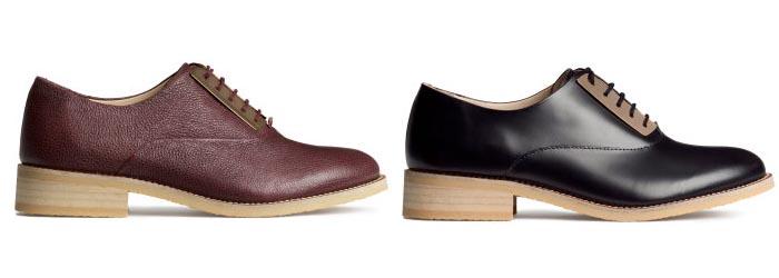 Herfst musthave: Leren H&M brogues 2014. Alles over de H&M brogues van aankomend seizoen: herfst/winter 2014-2015. Lees hier alles over brogues!