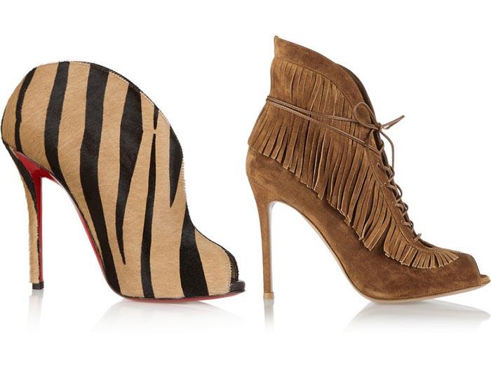 Trend schoenen: coole enkellaarsjes. Designs, kleuren en verschillende hakhoogtes. Trend schoenen 2014: enkellaarsjes voor de herfst/winter. Ontdek nu.