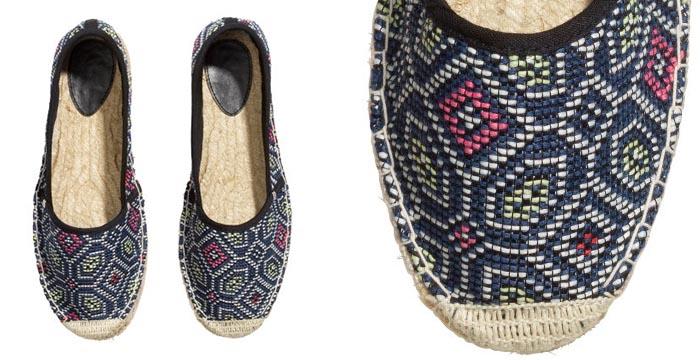 Budget tip: H&M espadrilles. Leuke schoenen voor de zomer. Bekijk hier deze gave H&M espadrilles, een echte musthave en budget tip voor de zomer.