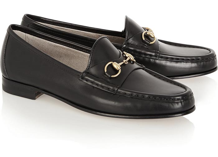 gucci loafers zwart