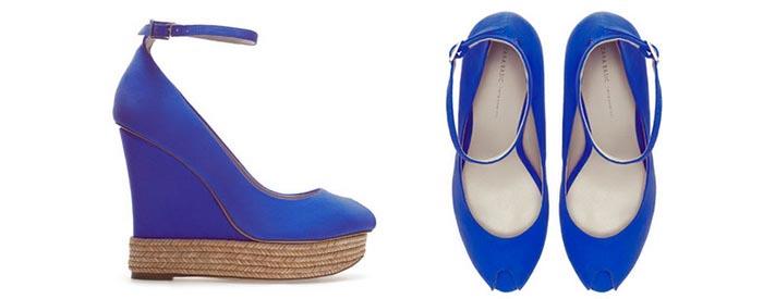 Zara high heels. Alles over de Zara high heels van 2014: gevlochten pumps met veel kleur. Ontdek deze fashionable schoenen hier. Laat je inspireren!