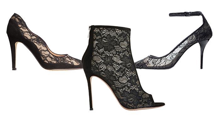 Schoenentrends voor de feestdagen: veren. Alles over leuke schoenentrends voor de feestdagen: ga voor veren, details en andere leuke decoraties.