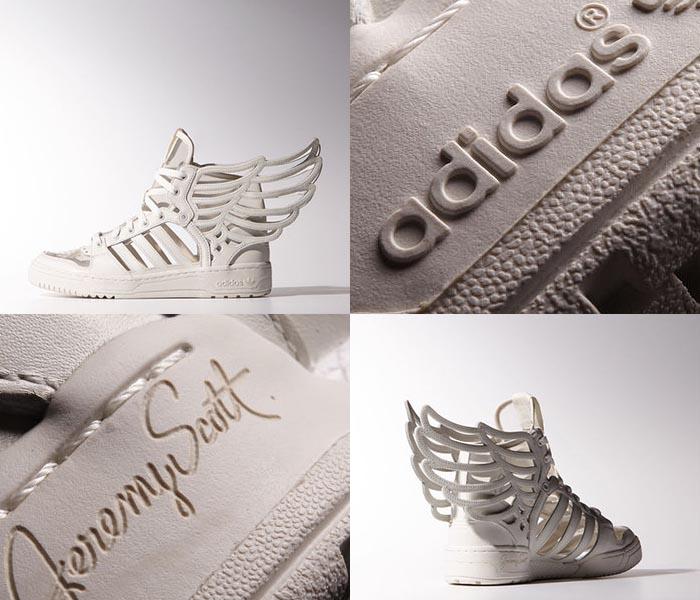Musthave: Adidas Wings sneakers Jeremy Scott. Alles over de nieuwe laser cut Adidas Wings sneakers ontworpen door Jeremy Scott. Bekijk ze hier!