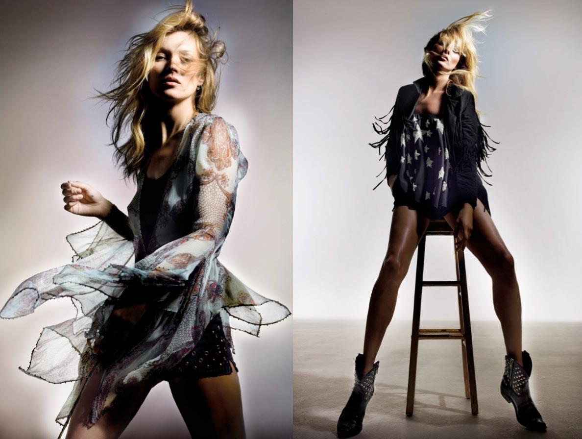 Alles over Kate Moss voor Topshop 2014. Kate Moss schittert in de nieuwe collectie van de Britse keten Topshop voor de collectie van 2014. Ontdek nu.