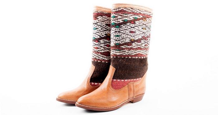 Alles over Kelim Boots. Lees hier over Kelim Boots en ontdek alle modellen van deze laarzen voorzien van een Perzisch design. Uniek en origineel!