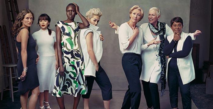 Marks & Spencer Leading Ladies campagne 2014. Supermodellen, bekroonde actrices, bekende zangeressen. Alles over de Marks & Spencer campagne 2014.