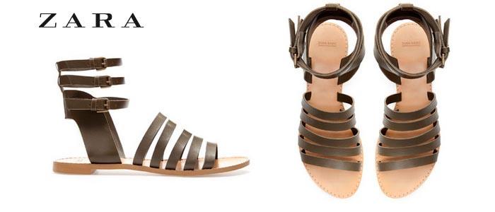 Zomer 2013 trends: Romeinse sandalen bij Zara. Lees alles over de zomer 2013 trends. Ontdek Romeinse sandalen bij Zara hier. Lees hier alles over!