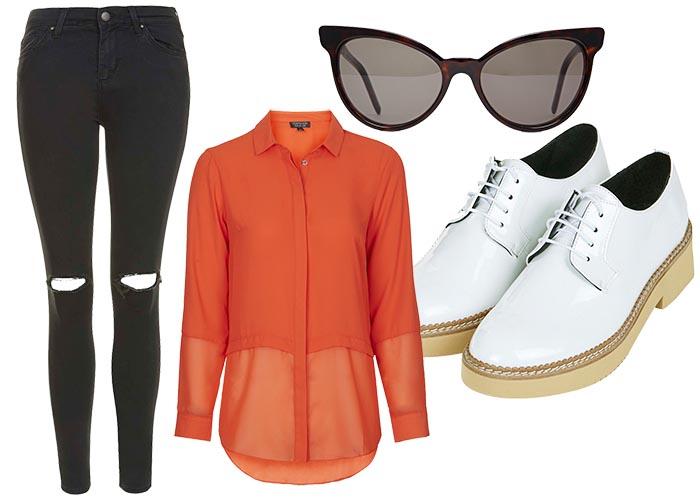 Een leuke outfit voor de vrijdag. Brogues, een jeans, een leuke zonnebril en meer. Fashion, mode , stijl. Een leuke outfit voor de fashionable vrijdag. Lees hier.