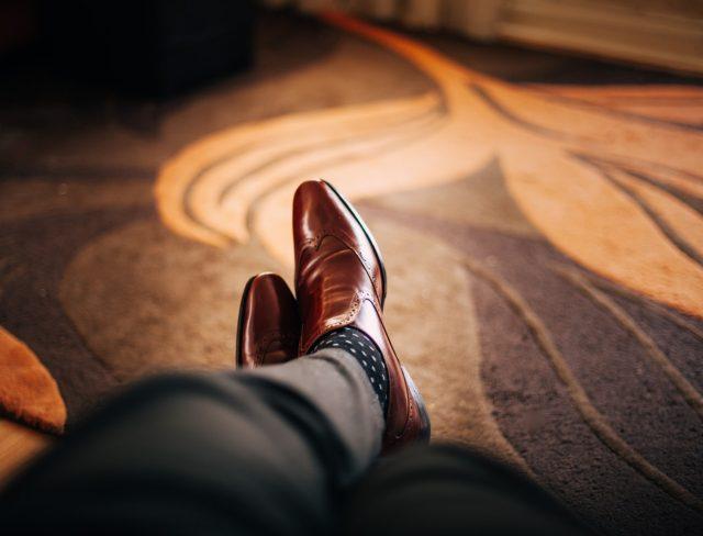 leren schoenen