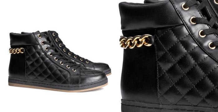 Shop tip: zwarte H&M sneakers 2014. De nieuwe H&M collectie is binnen: bekijk deze H&M sneakers van 2014 hier. Wat een te gekke musthave! Ontdek 't nu!