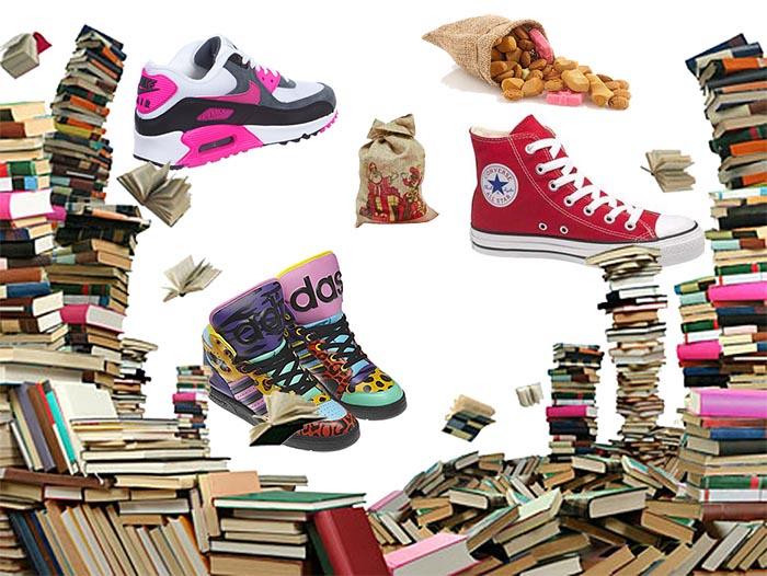 Sinterklaas cadeaus: new shoes. Alles over leuke Sinterklaas cadeaus voor 5 december: geef een paar nieuwe schoenen in plaats van wat anders.