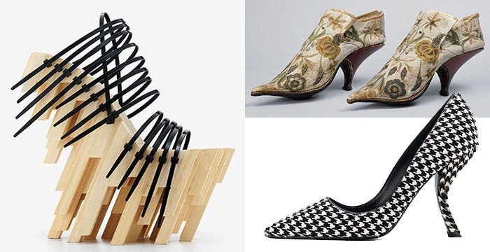 Schoenen tentoonstelling: Killer Heels. Alles over schoenen tentoonstelling Killer Heels: The Art of the High Heel in het Brooklyn Museum in New York.