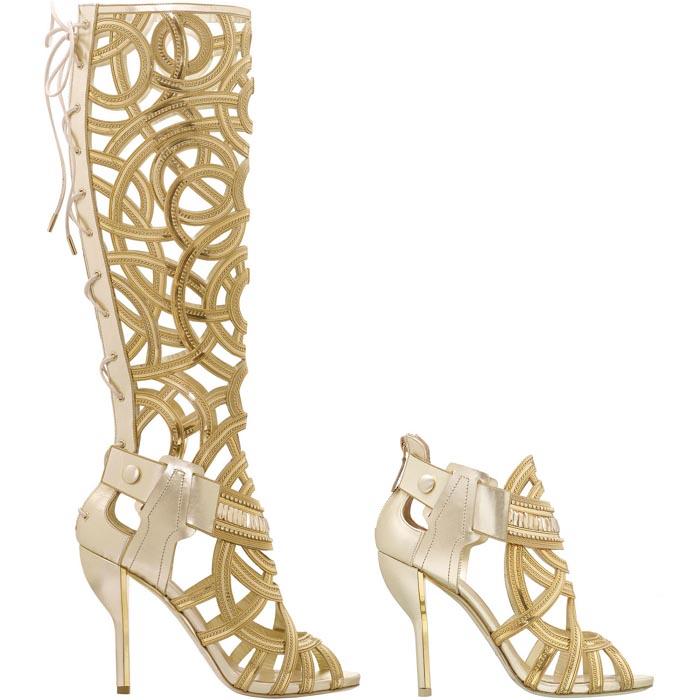 De schoenen van Victoria's Secret show 2014. Alles over de Nicholas Kirkwood schoenen voor de Victoria's Secret show 2014. Lees hier alles over.