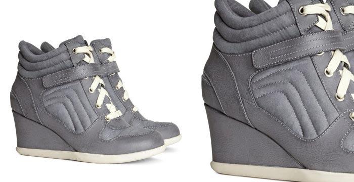 Budget tip: wedge sneakers H&M. Alles over wedge sneakers H&M, bekijk deze leuke budget tip en musthave van 2014 hier. Betaalbaar en fashionable!