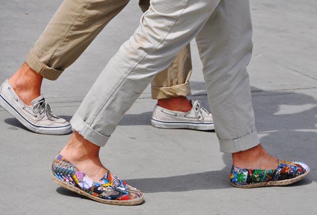 Trends 2013 zomer: espadrilles. Espadrilles behoren tot de zomer trends van 2013. Bekijk hier verschillende zomer espadrilles. De trend van 2013!